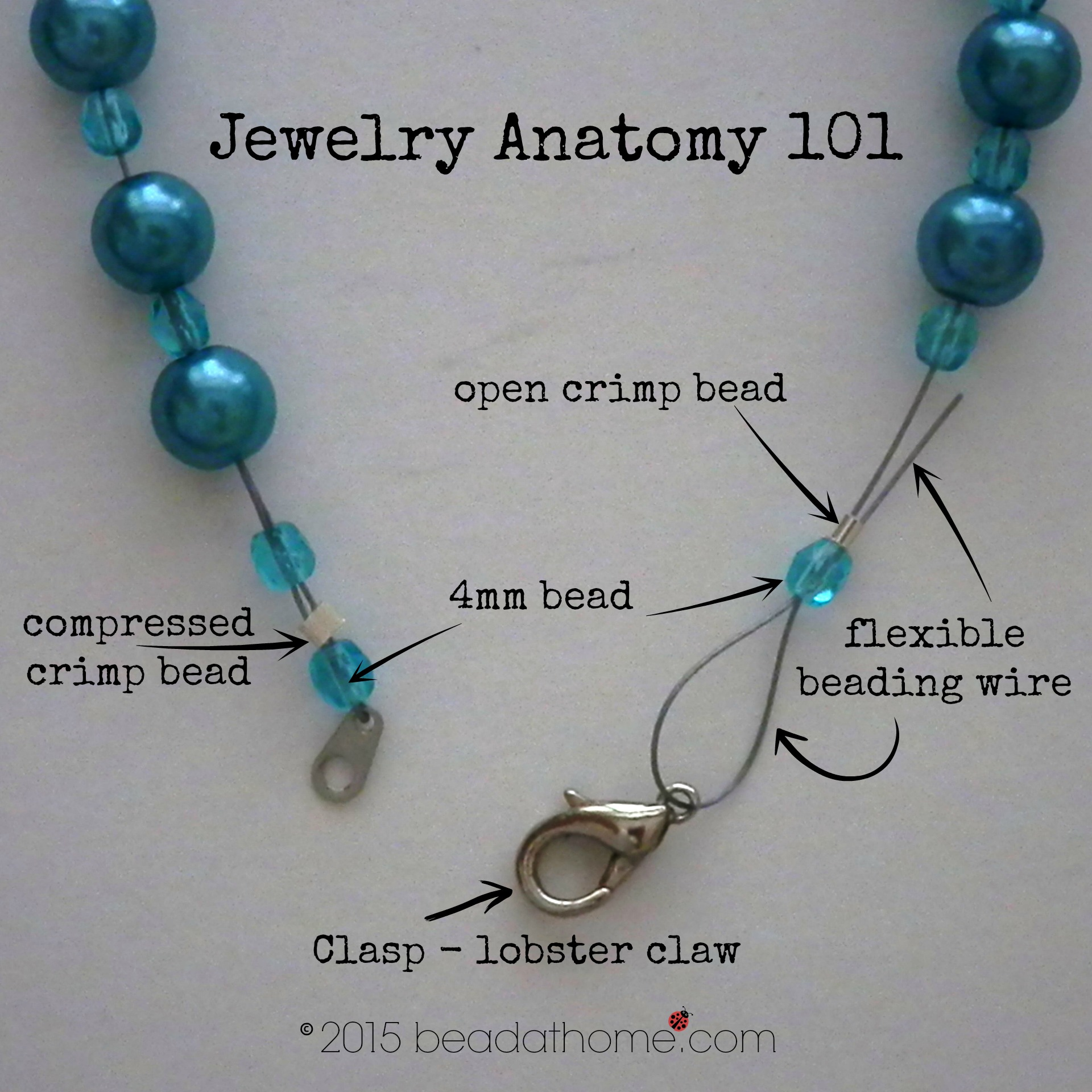 to beaded a necklace make supplies wrapped for how bracelet wire tutorial jewelry wrap beads article making bead